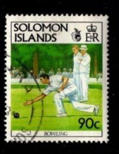 Solomon Islands #697 Lawn Bowling - Used