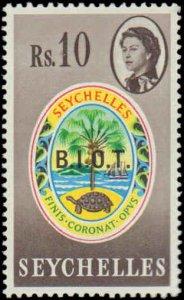 1968 British Indian Ocean Territory #1-15, Complete Set(15), Hinged