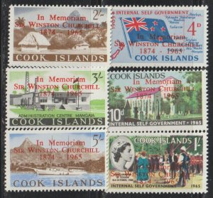 Cook Islands  SC  164-9 Mint Never Hinged