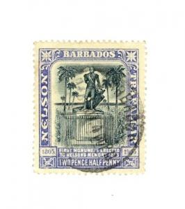 Barbados Scott 112 VF Used