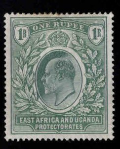 East Africa and Uganda protectorates  Scott 25 KEVII Nice color
