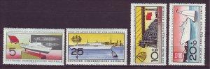 J24171 JLstamps 1960 germany DDR set mnh #502-3,b58-9 ships