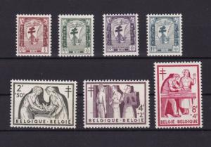 BELGIUM 1956 ANTI TB  STAMPS  SET MINT NEVER HINGED  CAT £45+ REF R 2814