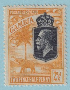 GAMBIA 106 MINT HINGED OG*  NO FAULTS EXTRA FINE