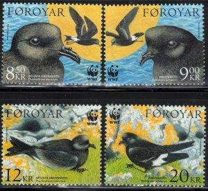 (CMA) Faroe Islands Scott #458-61 MNH Complete Set