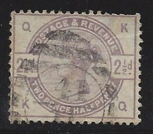 Great Britain #101 VF