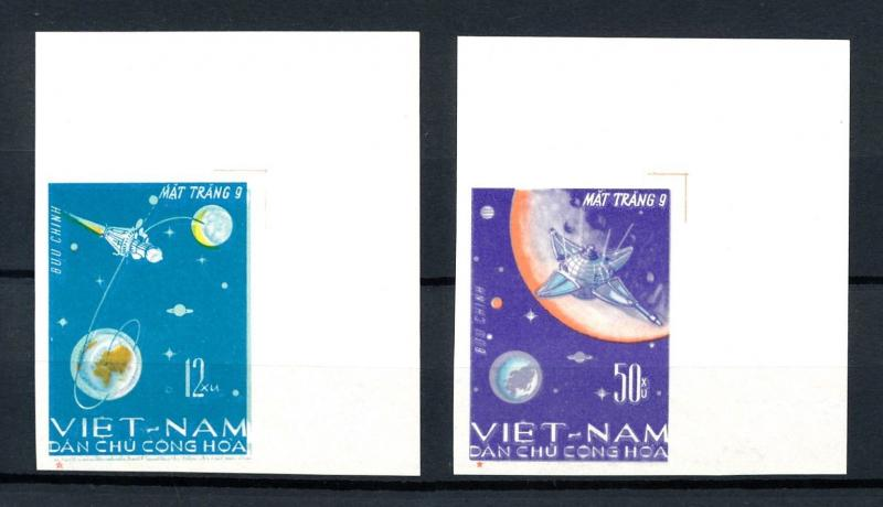 [92113] North Vietnam 1966 Space Travel Luna 9 Imperforated MNH