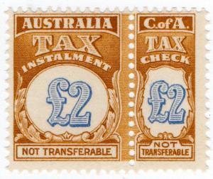 (I.B) Australia Revenue : Tax Instalment £2