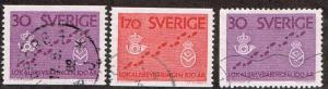 Sweden # 607 - 609 U