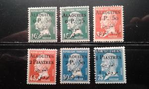 Alaouites 16-21 mint hinged