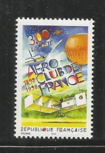 FRANCE  2667  MNH, AERO CLUB OF FRANCE, CENTENNIAL