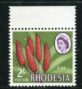 RHODESIA; 1964 early QEII Pictorial issue MINT MNH MARGIN 2s. value
