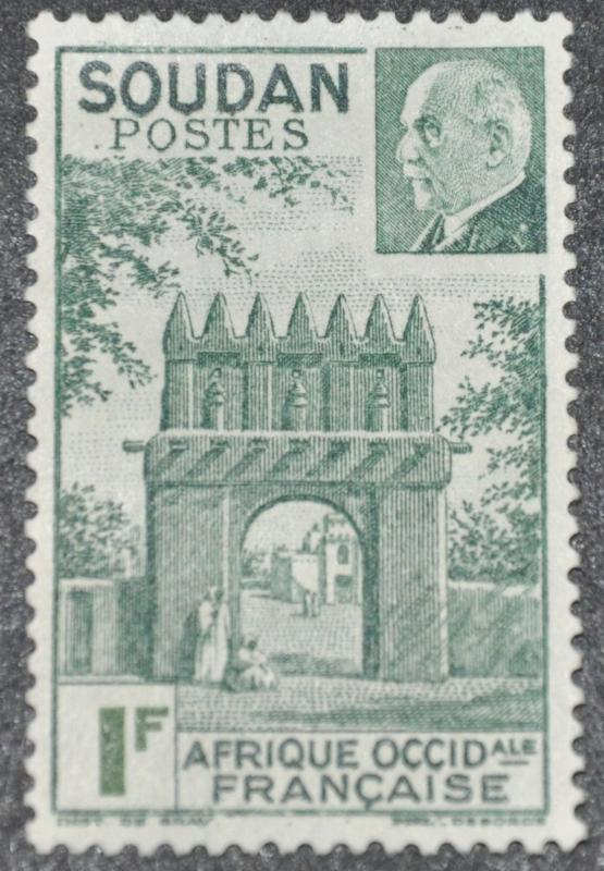 DYNAMITE Stamps: French Sudan Scott #118 – UNUSED