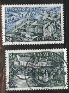 Luxembourg Scott 483-484 Used 1969  stamp set