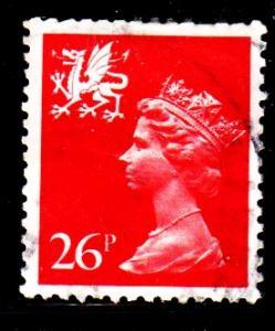 Wales - #WMMH47 Machin Queen Elizabeth II - Used