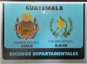 O) 1979 GUATEMALA, ARMS OF GUATEMALAN , FIRST SHIELD -CURRENT SHIELD - SC C714
