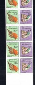 Micronesia 88b Seashells Booklet MNH VF