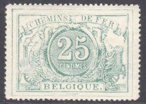 BELGIUM Q10a OG NH U/M VF BEAUTIFUL GUM $135++ BLUE GREEN