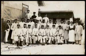 Germany WWI Army Danzig Stargard Hospital With Nurses  RPPC 64290