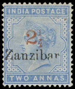 Zanzibar Scott 29 Gibbons 40 Mint Stamp