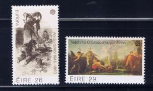 Ireland 519-20 Lightly Hinged 1982 Europa