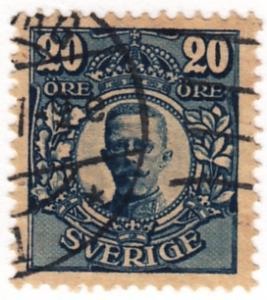 Sweden, Scott # 83 (7), Used