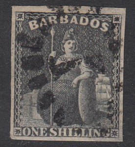 Barbados 9 Used CV $85.00