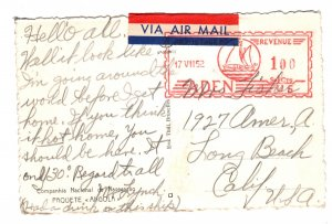 Aden 1952 post card