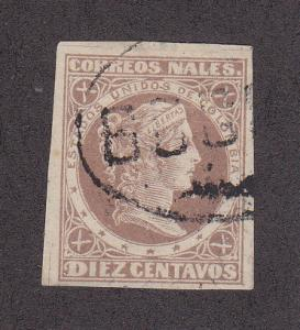 Colombia Scott #74 Used Note