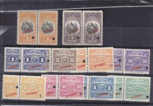 1930, Guatemala: Fiscal & Consular, See Remark (13869)