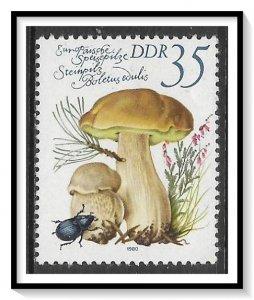 Germany DDR #2141 Edible Mushrooms MH