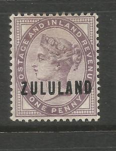 ZULULAND  1888-93  1d  QV  MH  SG 2