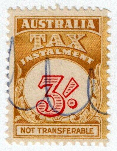 (I.B) Australia Revenue : Tax Instalment 3/-