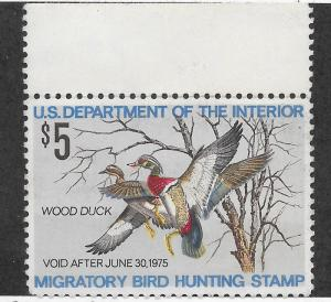 RW41 MNH, Federal Duck Stamp, scv: $18, FREE INSURED SHIPPING30