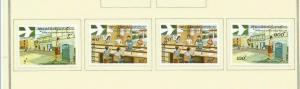 LAOS 1978 SCOTT 306-9 MH