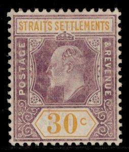 MALAYSIA - Straits Settlements EDVII SG162, 30c, M MINT. Cat £55.