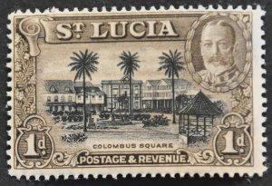DYNAMITE Stamps: St. Lucia Scott #96 – MINT hr