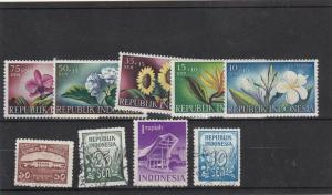 republic indonesia mm+used stamps   Ref 9832