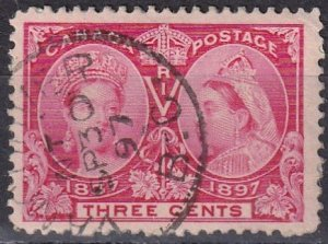 Canada #53 F-VF Used CV $2.50 (Z6118)