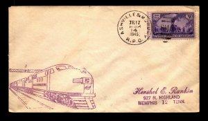 1945 Ashville & Murphy RPO Cover - L15620