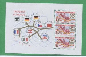 CZECHOSLOVAKIA Souvenir Sheet  #2533a Mint, NH - FB75
