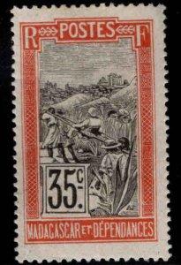 Madagascar Scott 97 MH* stamp