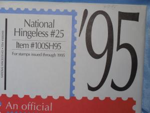 Scott National supplement Hingeless #25 1995 new