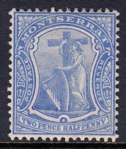 Montserrat - Scott #34 - MH - SCV $2.50