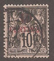 French Morocco 3a Used F-VF