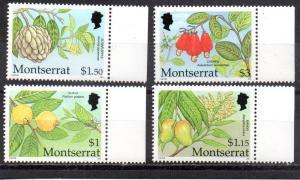 Montserrat 1850-1853 MNH