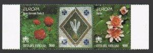 Vatican 1103-1104a,MNH.Michel 1277-1278. EUROPE CEPT-1999.Flowers:Rosa,Lilies.