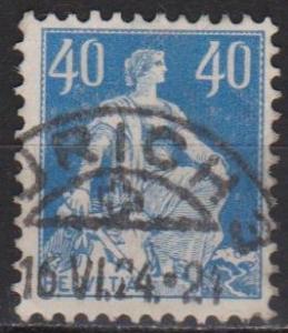 Switzerland #137 F-VF Used (ST345)
