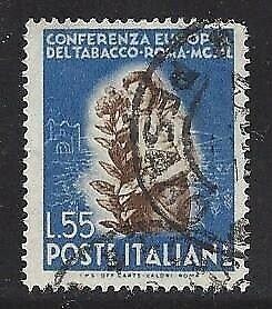 Italy used #546 VF