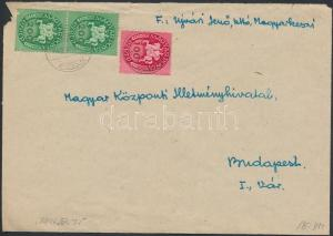 Hungary stamp Inflation cover Cover 1946 Inflation of the Pengõ WS223072